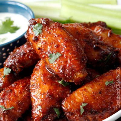 Traditional Wings-Honey BBQ