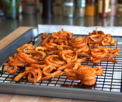 Curly Fries (large)