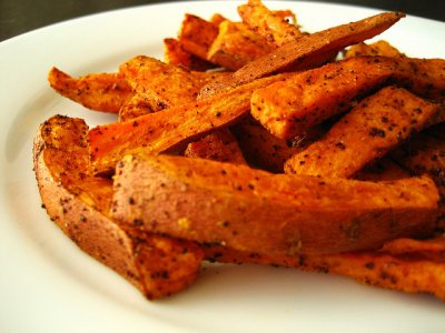 Sweet Potato Fries (large)