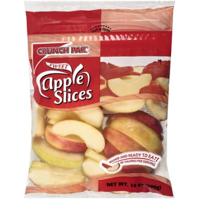 Sweet Red Apple Slices