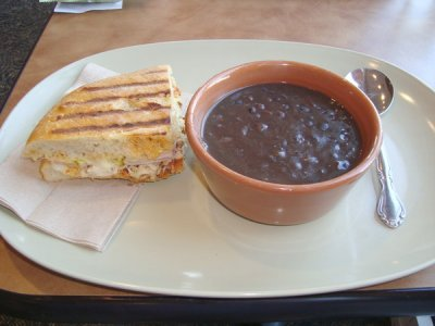Black Bean Soup, Large