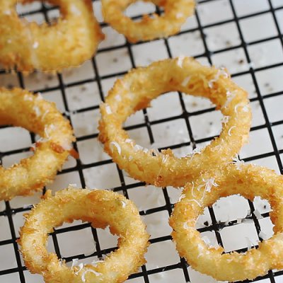 Breaded Onions Rings (Large)
