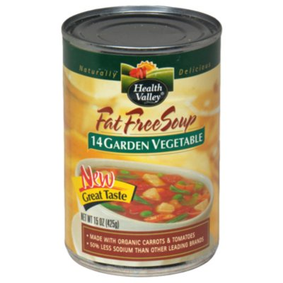 Garden Vegetable Soup, 12 oz