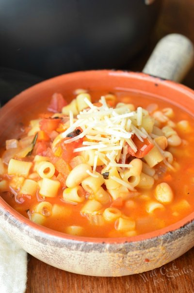 Pasta Fagioli With Sausage Soup