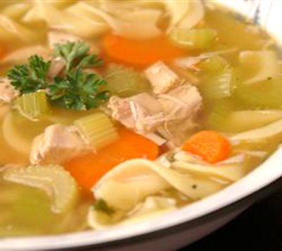 Chicken Noodle Soup, Side