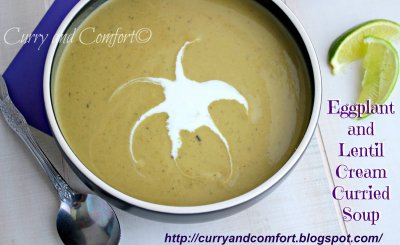 Curried Rice and Lentil Soup, Medium