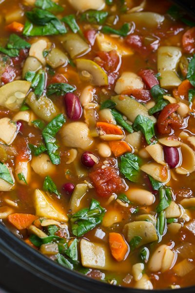 Garden Vegetable Soup, Medium