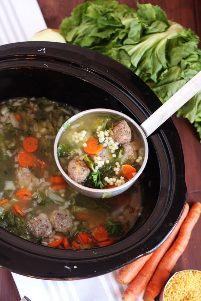 Italian Wedding Soup, Small