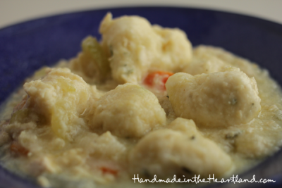 Small Chicken and Dumplings