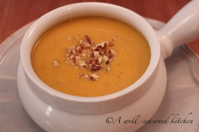 Butternut Squash and Apple Soup, Medium
