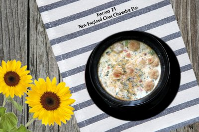 Family Size New England Clam Chowder