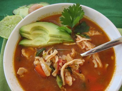 Fire Roasted Tortilla Soup-Bowl