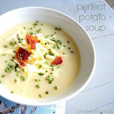 Hearty Potato Bacon Soup