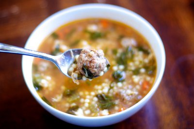 Italian Wedding Soup, Medium