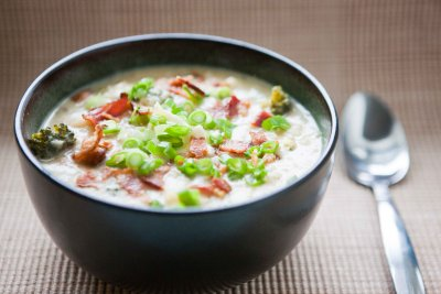 Loaded Baked Potato Soup, Cup