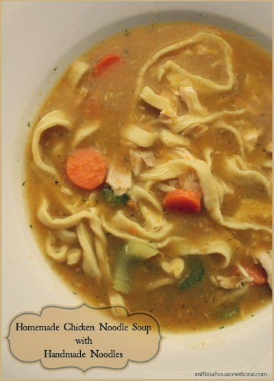 Oven Roasted Turkey Noodle Soup