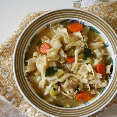 Chicken Noodle Soup, Bowl