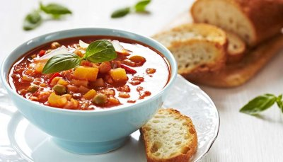 Vegetarian Minestrone, Large