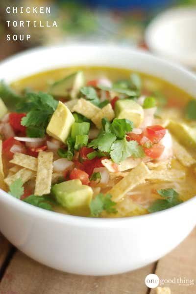 Chicken Tortilla Soup, Large