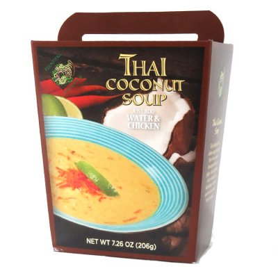 Thai Coconut Shrimp Soup, Large