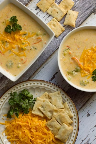 Broccoli Cheddar Soup, Bowl