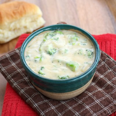 Broccoli Cheese Soup-Bowl