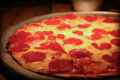 Cheese & Pepperoni Pizza, Large Thin Crust