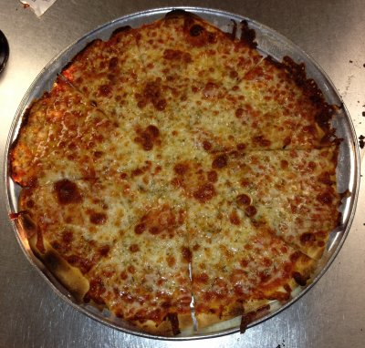 Cheese Pizza, Large Thin Crust