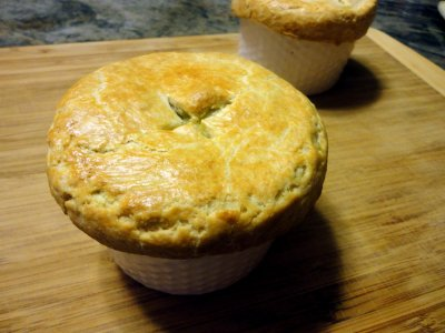Chicken Pot Pie Soup, Bowl