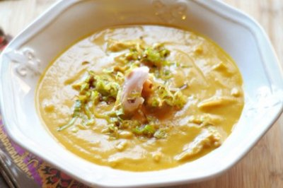 Corn & Green Chili Bisque, Large
