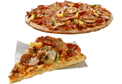 Italian Sausage Supreme Pizza, Small Thin Crust