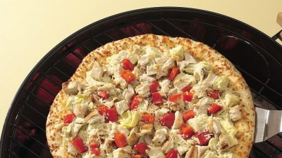 Grilled Chicken Pizza, Medium Round
