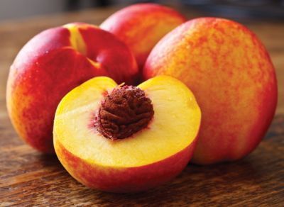 Nectarine, White, Ready-To-Eat, Large