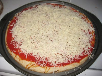 Italian Sausage Supreme Pizza, Large Square