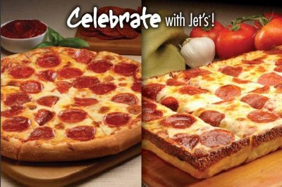 Jet 10 Pizza, Large Round