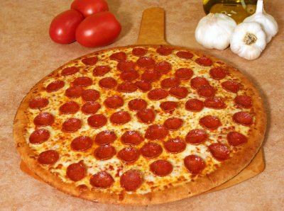 Pepperoni Thin Crust, Large