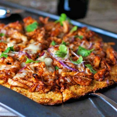 BBQ Chicken - Skinny Crust (Medium)