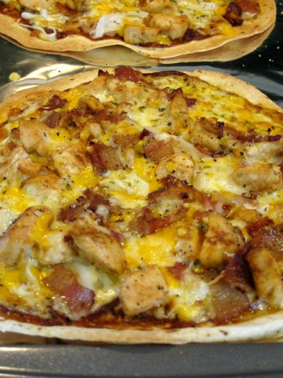 BBQ Chicken Bacon Original Crust, Large