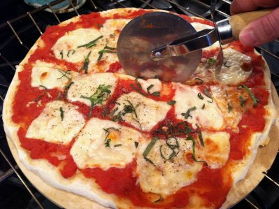 Margherita _ _ pizza _ 2 slices