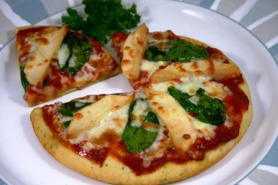 Chicken Spinach Mozzarella _ 1/3 pizza