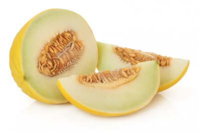 Melon, Honeydew / White, Honeydew, Large