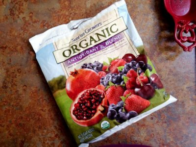 Organic Antioxidant Blend, Mixed Fruit