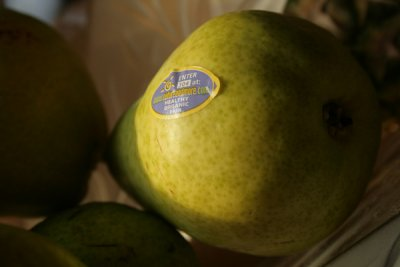 Organic, Pear, Bartlett / Williams / Wbc, Large