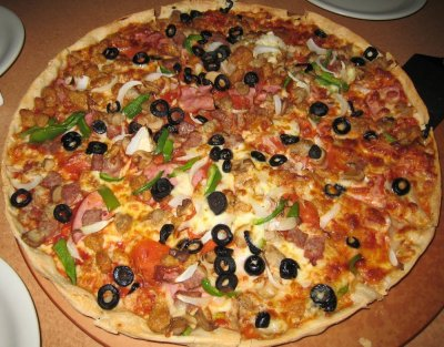 Meat Supreme Pizza- entire Pizza - 8