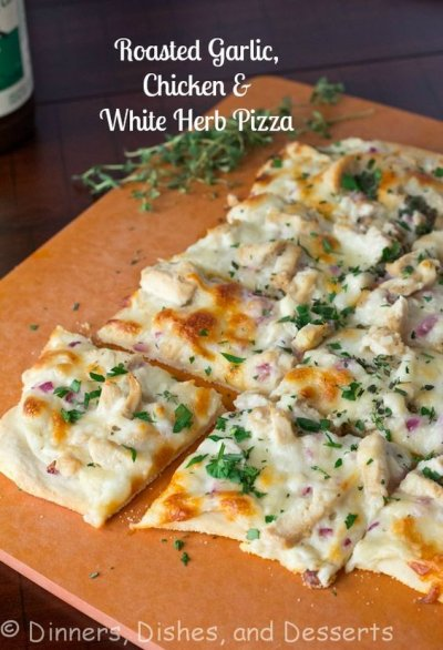 Classic White Pizza- entire Pizza - 15