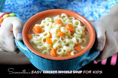 Chicken Noodle Soup (kids)