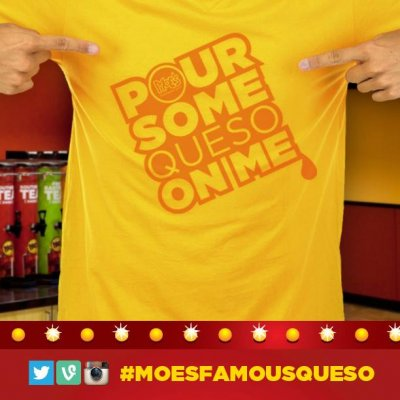 Moe's Famous Queso - Breakfast Junior Burritos Kids Menu Tacos