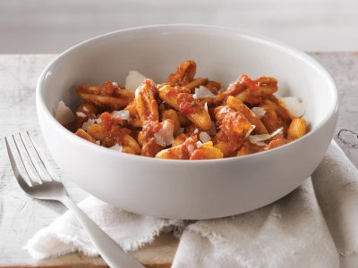 Rustic Penne Bolognese