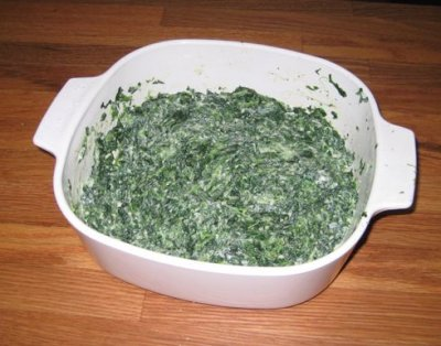 Creamed Spinach (kids)