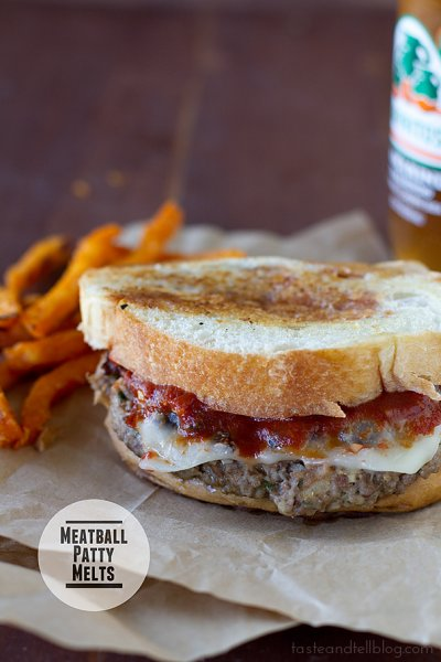 Kids-Marinara Melt